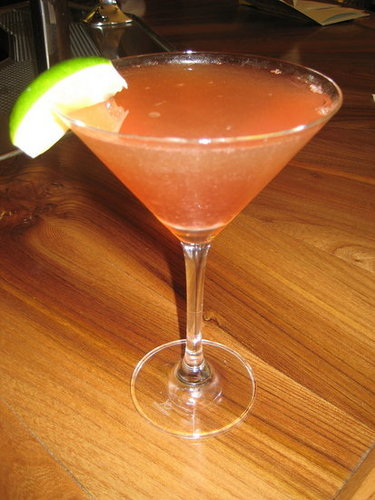 Happy Hour: Pomegranate Cosmo